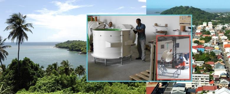 Décollage de Tricel en Guyane Française