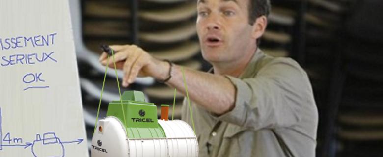 Tous ensemble Tricel sur TF1 assainissement
