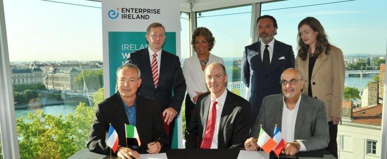 Avec la bénédiction du Premier Ministre irlandais…