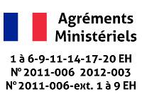 Agréments ministériels 1 à 20eh assainissement micro-station d'épuration