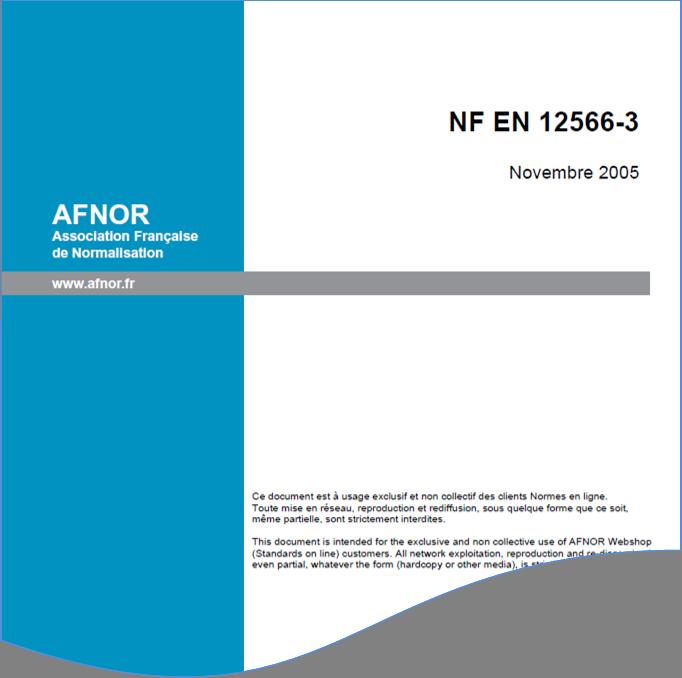 NF EN 12566-3