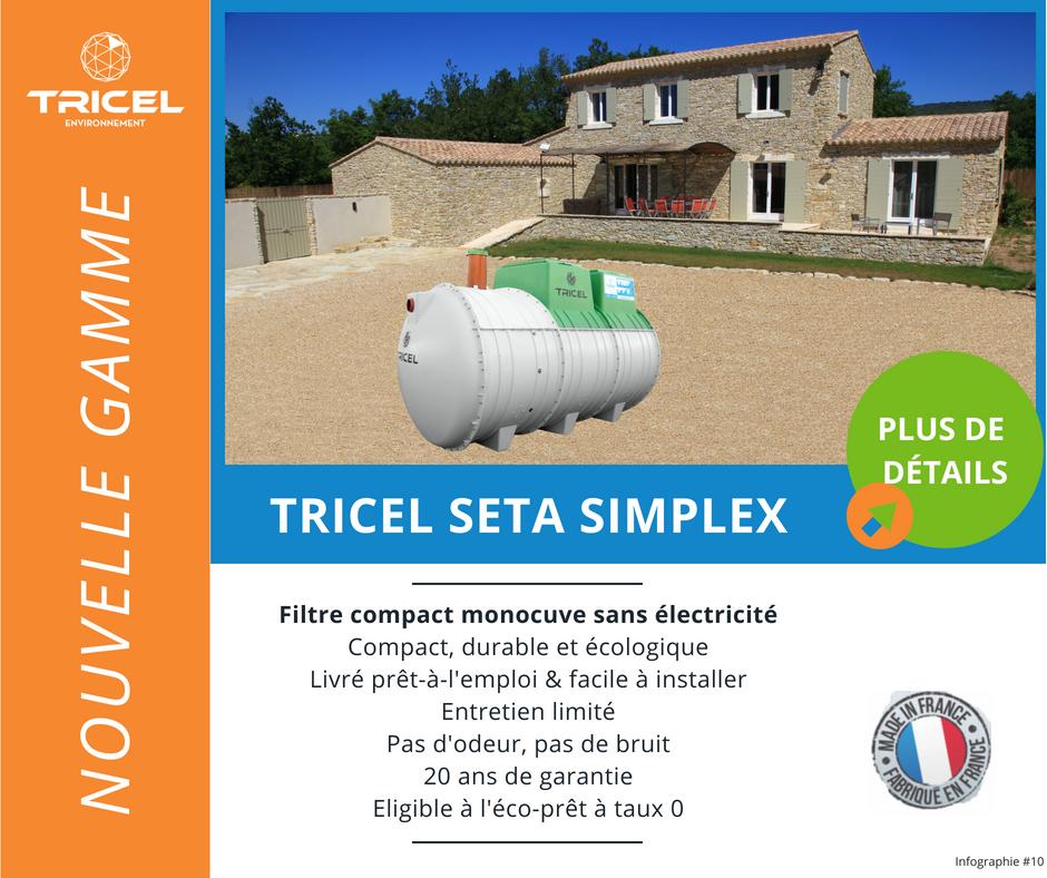 tricel seta simplex