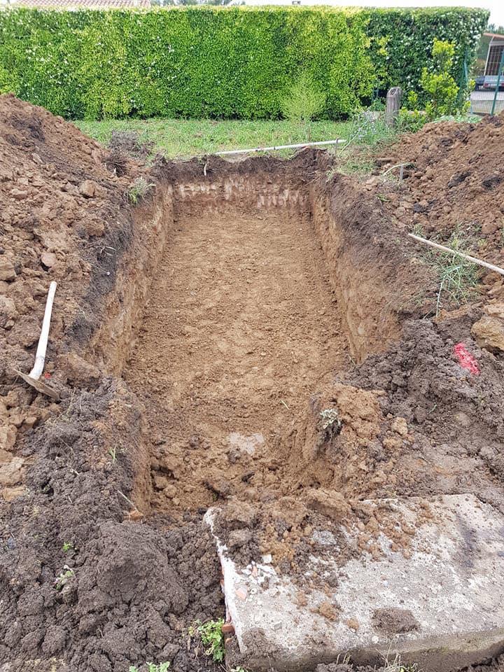 Etape n° 1 : creuser la fouille