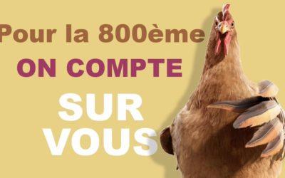La foire de Beaucroissant fête son 800e anniversaire