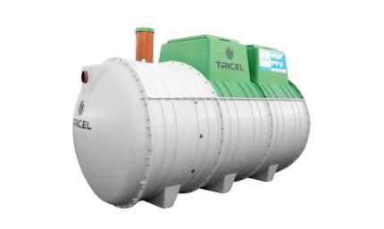Filtre compact monocuve Seta Simplex jusqu'à 9 EH